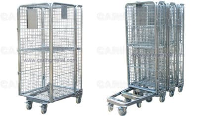 nestable security roll cage