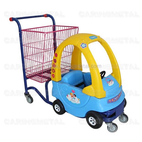 KID CAR SHOPPING TROLLEY