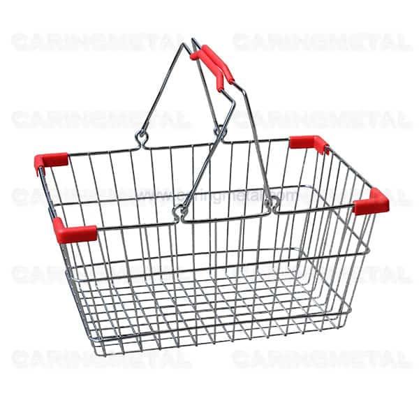 Wire supermarket basket 18L