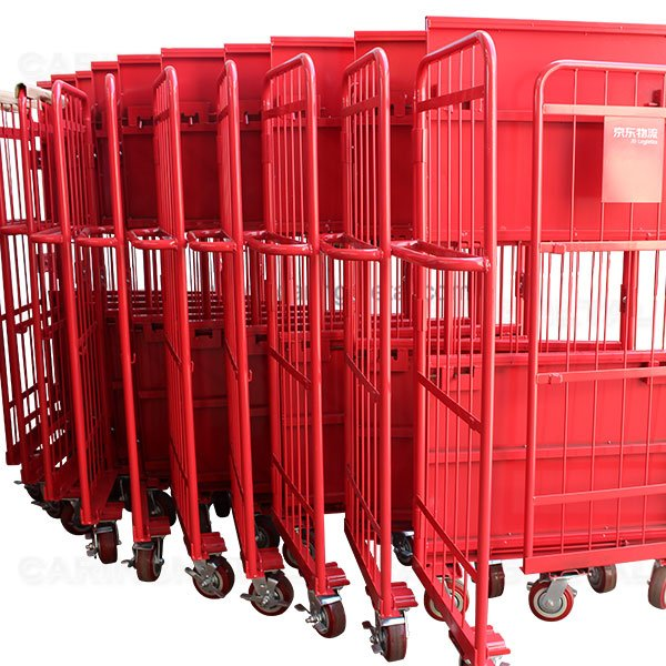 Roll-pallet-container-JINGDONG LOGISTIC
