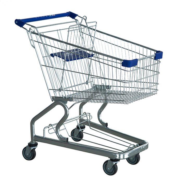 German-style shopping trolley