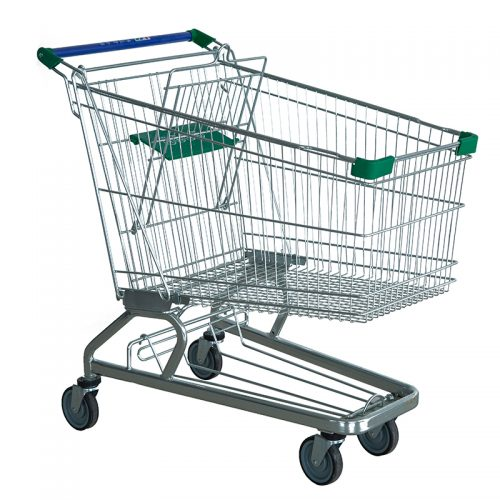 German-style shopping trolley